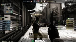 ESEA Premier Season 25 Europe || PENTA vs Kinguin | de_train | @Toll