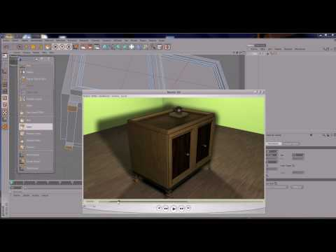 Tutorial Cinema 4D Impresionante Mueble 3D (de 0 A 100)