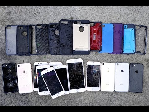 Top 12 iPhone 7 Cases Drop Test! Most Durable iPhone 7 Case?