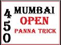 today main mumbai single panna trick