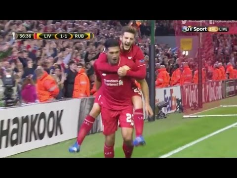 Liverpool vs Rubin Kazan 1-1 All Goals & Highlights - October 2015