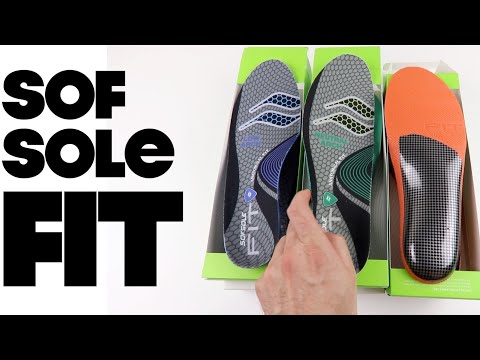 Sof Sole  FIT Series Insoles | The Boot Guy Reviews