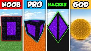 Minecraft NOOB vs. PRO vs. HACKER vs GOD : FANTASY CASTLE INTERIOR BUILD in Minecraft! (Animation)