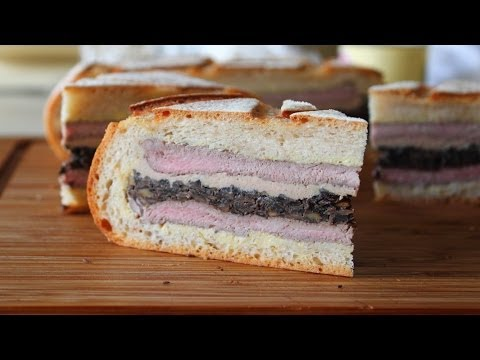 sandwich - Learn how to make a Shooter's Sandwich! Go to http://foodwishes.blogspot.com/2013/12/the-shooters-sandwich-tally-ho-indeed.html for the ingredient amounts, e...
