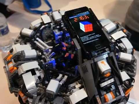 The cubestormer 2 world record rubik s cube solver made from lego