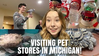 Visiting Pet Stores In Michigan + Going To Christmas Events! | Vlogmas Day 6 by Emma Lynne Sampson