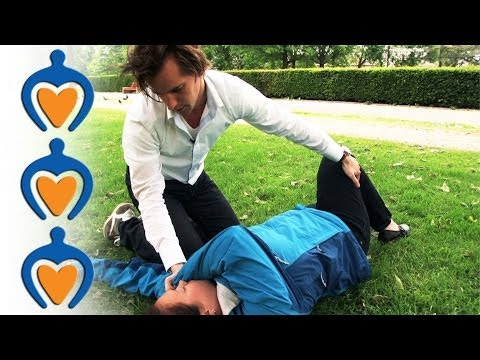 EHBO – Eerste hulp bij bewusteloosheid (de stabiele zijligging)