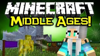 Minecraft MIDDLE AGES MOD Spotlight! - Pimp Yo' Castle! (Minecraft Mod Showcase)