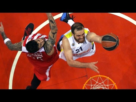 Highlights: Olympiacos Piraeus-Fenerbahce Ulker Istanbul