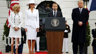 Trump and Macron's full speeches at the White House