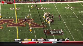 Christian Kirksey vs Minnesota (2013)