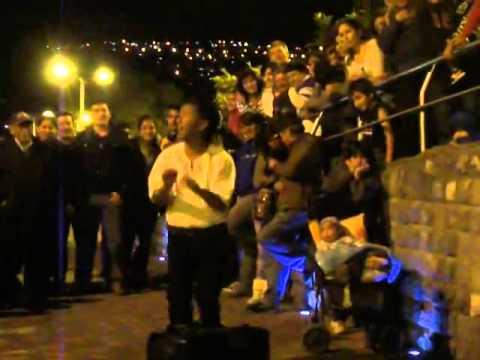 Paolo Ladino 2014 en la Ronda Quito Centro Historico Richard 1 parte