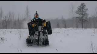 9. 800 Can Am Renegade - Let's rip that snow!!!