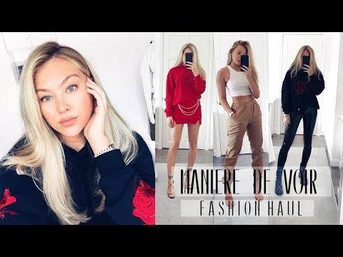 MANIERE DE VOIR HAUL | Try on Haul | Hollie Hobin