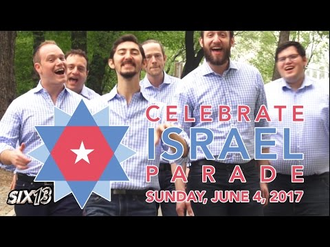 Celebrate! (NYC Celebrate Israel Parade Theme)