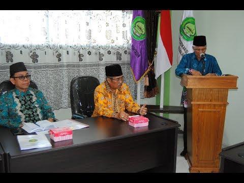 Sambutan Ketua STKIP Islam Sabilal Muhtadin Banjarmasin