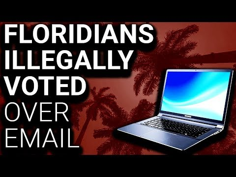 BREAKING: Republican County in FL VOTED BY EMAIL (Illegal)