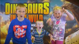 DINO-mite reviews from Fans at Dinosaurs in the Wild at NEC, Birmingham. Book your ground-breaking, live action, family adventure now! www.dinosaursinthewild.com
