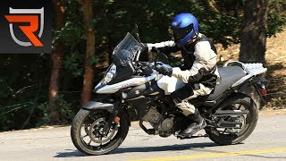 1. 2017 Suzuki V-Strom 650 First Test Review Video | Riders Domain