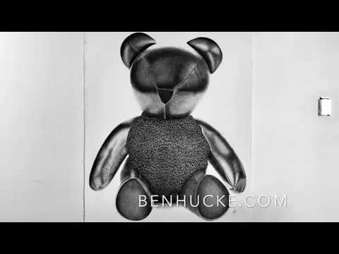 Bear Drawn with Pigma Micron by Ben Hucke