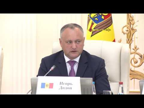 La Minsk a avut loc întrevederea Preşedintelui Igor Dodon cu reprezentanții cercurilor de afaceri din Republica Belarus