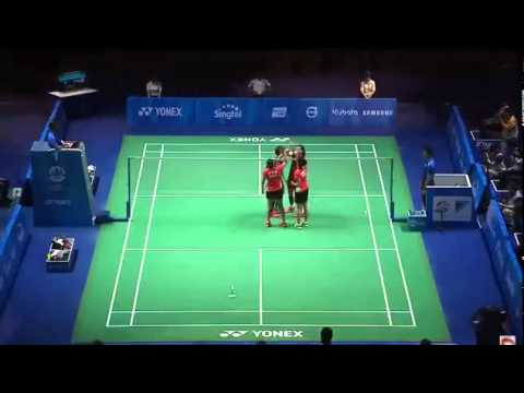 28th Seagame Singapore 2015 Final [WD] Vivian-WOON Khe Wei vs SOONG-ANSCELLY : Victory Ceremony