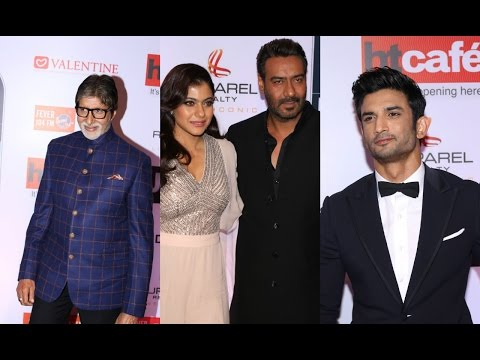 Amitabh Bachchan| Ajay Devgan & Kajol | Sushant Singh Rajput At HT Most Stylish Awards 2017