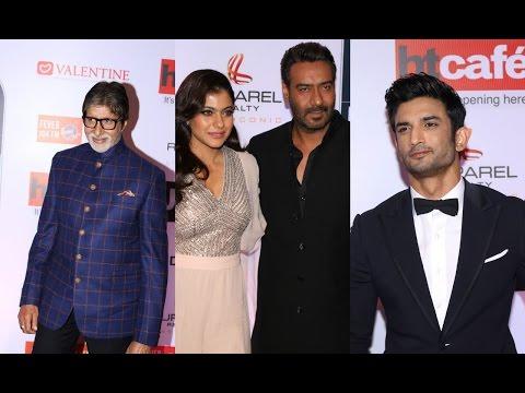 Amitabh Bachchan| Ajay Devgan & Kajol | Sushant Singh Rajput At HT Most Stylish Awards 2017