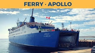 Video Passage ferry APOLLO, Blanc-Sablon - St. Barbe (Labrador Marine) MP3, 3GP, MP4, WEBM, AVI, FLV Maret 2019