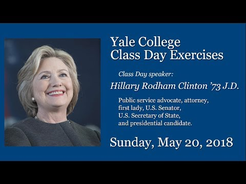 Yale College Class Day Exercises (видео)