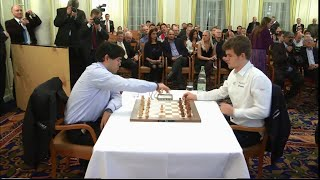 Video Hikaru Nakamura vs Magnus Carlsen || Amazing checkmate Position Qe2-Qf1! || Zurich Blitz Chess 2014 MP3, 3GP, MP4, WEBM, AVI, FLV September 2018
