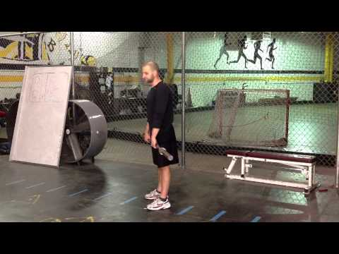 How to Power Clean for HOCKEY