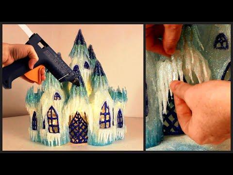 Как сделать замок из пластиковых бутылок своими руками