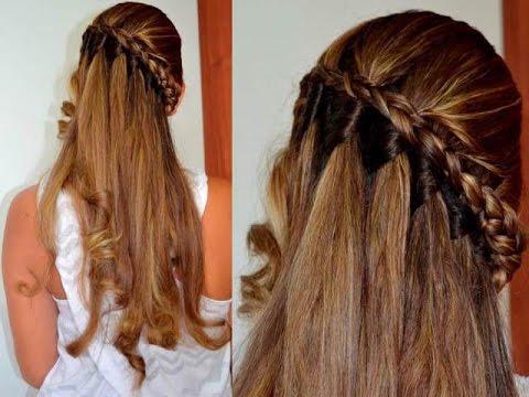 Peinados y trenzas faciles de hacer