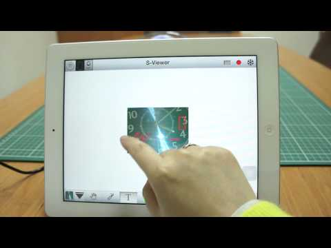 Video of S-Viewer for tablet