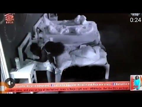 BB NAIJA 2018: TOBI TELLS CEE C TO LEAVE HIS BED