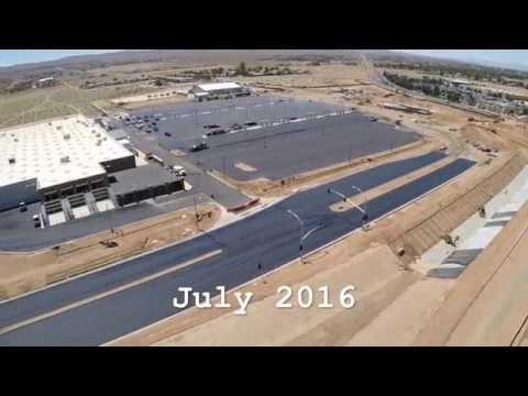 Ridgecrest Super Walmart Progress - July 2016