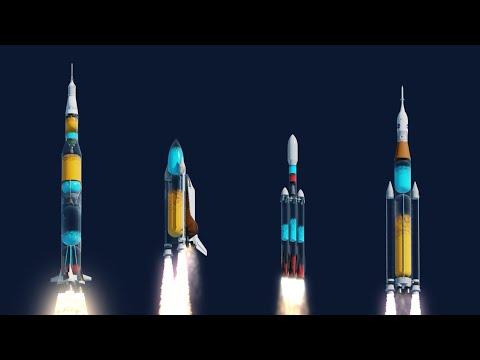 如果火箭燃料槽是透明的