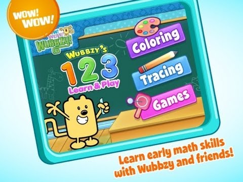 Video of Wubbzy's 123 Learn & Play