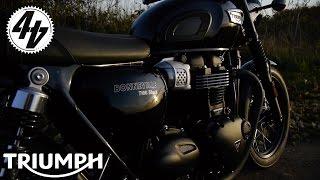 7. Triumph Bonneville T100: Launch Vlog