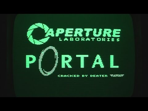 Playing the Apple II version of Portal on a IIe