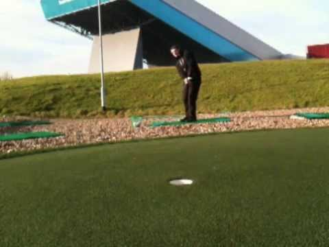 Holing some chips – James Hopkins PGA Professional Trafford Golf Academy