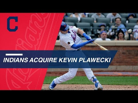 Video: Indians trade for Kevin Plawecki from the Mets