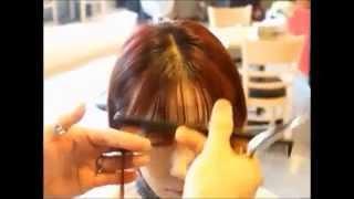 Video cara menggunting poni depan ala korean(step by step) MP3, 3GP, MP4, WEBM, AVI, FLV November 2018