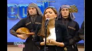 აფხაზური სიმღერა - სოფო გელოვანი და ანსამბლი აფხაზეთი Abkhazian songs - Sophie Gelovani and ensemble...