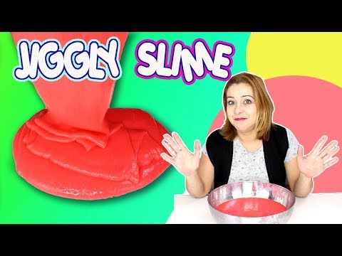 DIY Super Jiggly Slime