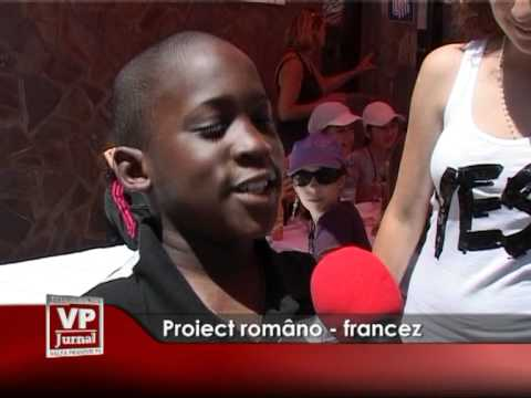 PROIECT ROMANO – FRANCEZ