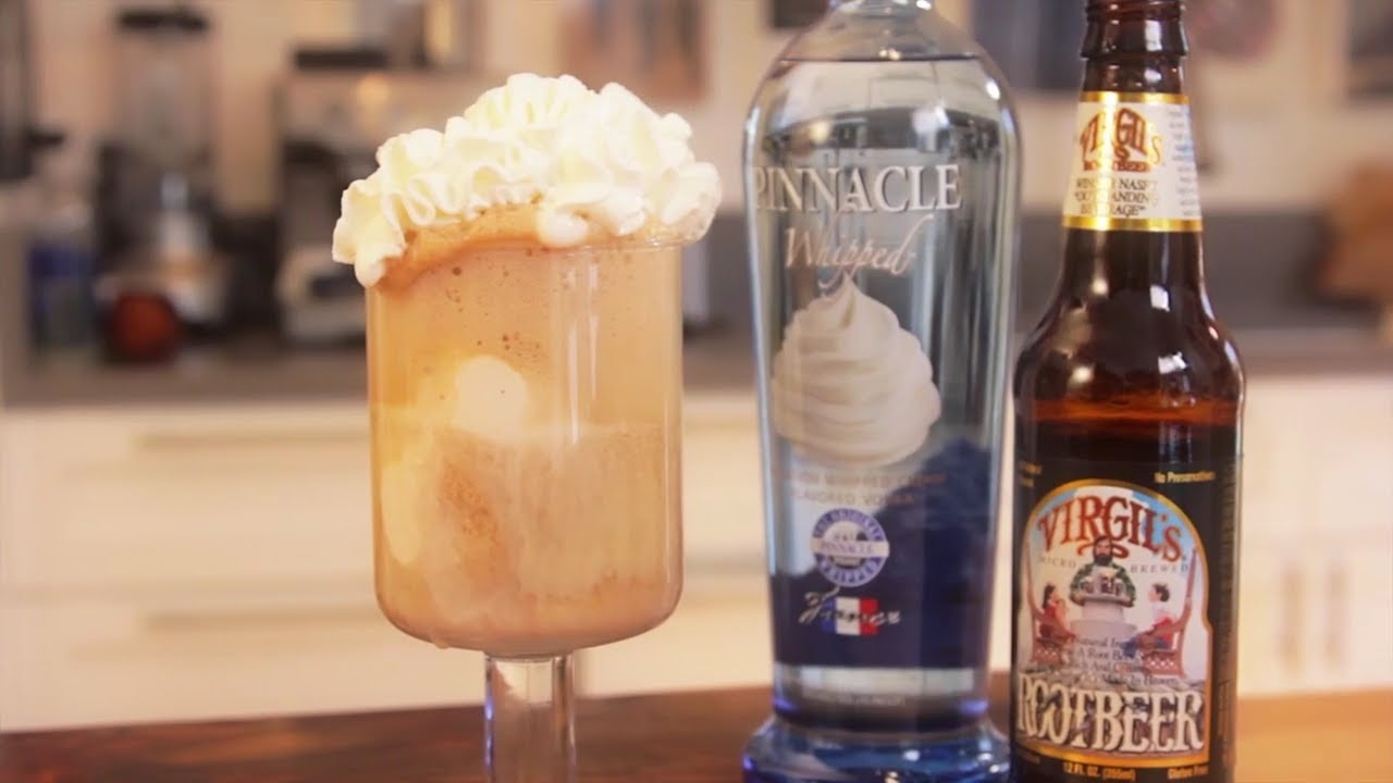 Grown Up Root Beer Float