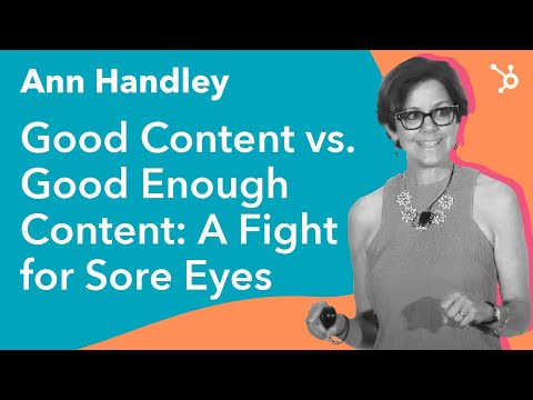 Good Content vs. Good Enough Content: A Fight for Sore Eyes