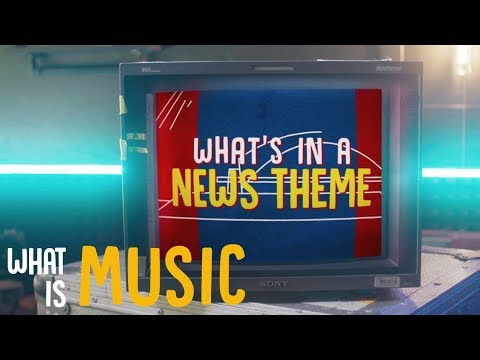 What's in a News theme? | What is Music